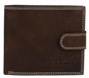 Pánská peněženka z broušené kůže WILD 995 hnědá