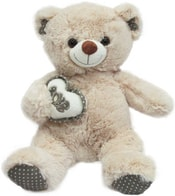 Medvědice se srdcem VALENTÝN 20cm