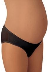 Těhotenské kalhotky Mamy slip black