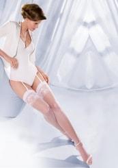 Punčochy na podvazky svatební Princessa 10/194 Gabriella