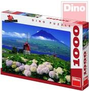 Puzzle1000 dílků Mlýny pod vulkánem 66x47cm v krabici