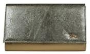 Luxusní zlatá dámská listová kabelka / psaní SP100