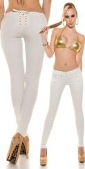 Úzké bílé kalhoty in-ka1002wh