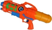 Pistole dětská vodní plastová 41cm 2 barvy v sáčku se zásobníkem