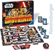 RAVENSBURGER Hra Labyrinth bludiště Star Wars
