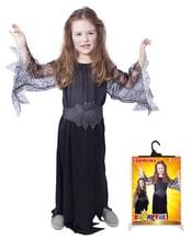 Kostým čarodějnice černá s vel. S
