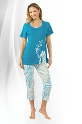 Dámské pyžamo Blue birds