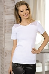 Dámské triko Tiara bílé