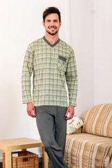 Pánské pyžamo Oto zelené