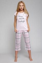 Dámské bavlněné pyžamo Kiss Me