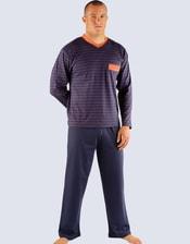 Pánské pyžamo dlouhé 79009P