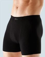 Jednobarevné boxerky s delší nohavičkou 74045P