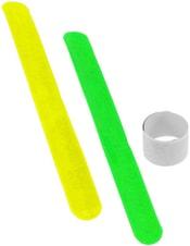 Pruh reflexní samosvorný 21x3cm bezpečnostní 3 barvy v sáčku