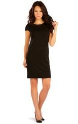 Černé šaty 87445