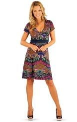 Šaty dámské s krátkým rukávem 86257