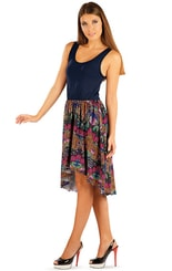 Šaty dámské bez rukávu 85524