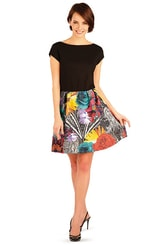 Šaty dámské s krátkým rukávem 89324