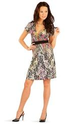 Šaty dámské s krátkým rukávem 86316
