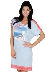 Dámská noční košile s nápisem Wish