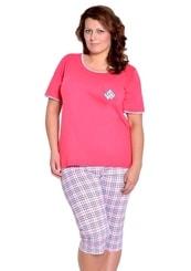 Dámské pyžamo nadměrné velikosti Ela