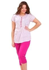 Dámské pyžamo s capri kalhotami Anna
