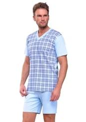 Pánské pyžamo s kraťasy Roman