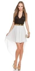 Společenské šaty in-sat1002wh
