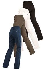 Kalhoty dámské dlouhé bokové 87157