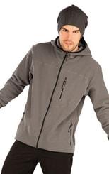 Mikina pánská na zip s kapucí 87147