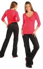 Kalhoty dámské dlouhé do pasu 99521