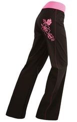 Kalhoty dámské dlouhé bokové 87160