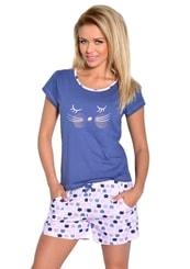 Dámské pyžamo s kraťasy Wanesa