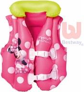 Vesta dětská plavací nafukovací 51x46cm do vody Minnie