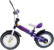 Odrážedlo dětské lehké kolo SW-001 fialovo-bílo-černé