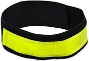 Pruh reflexní žlutý textilní na suchý zip 50x4cm bezpečnostní v sáčku