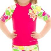 Flower tričko s UV ochranou
