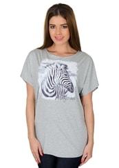 Dámské tričko s obrázkem zebry