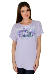 Dámské tričko s obrázkem krokusu
