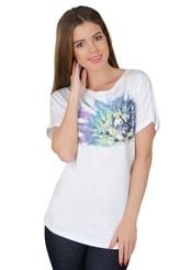 Dámské tričko s obrázkem bodláku