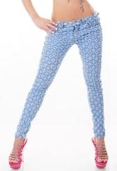 Extravagantní dámské džíny st-ri434