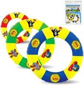 KRTEK Dětský nafukovací kruh 40cm do vody 3 barvy