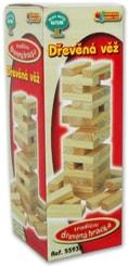 Hra věž stavebnice 14cm jenga