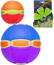 Phlat Ball disk 20cm plastový měnící se v míč svítící ve tmě 2v1