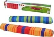 Síť houpací dětská 200x80cm závěsná pruhovaná 3 barvy nosnost 100kg