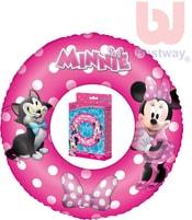 Kruh dětský 56cm nafukovací plavací kolo Minnie do vody