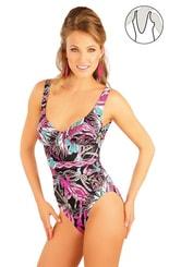 Jednodílné plavky s kosticemi 88186