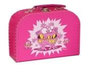 Kufr Příšerky ružový, střední
