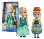 Panenka FROZEN-Ledové království Fever- Elsa a Anna, 36 cm