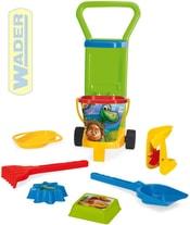 Vozík na pláž plastový pískový set 8ks Hodný Dinosaurus 78170