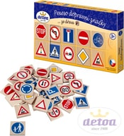 Pexeso dopravní značky 36 dílků
